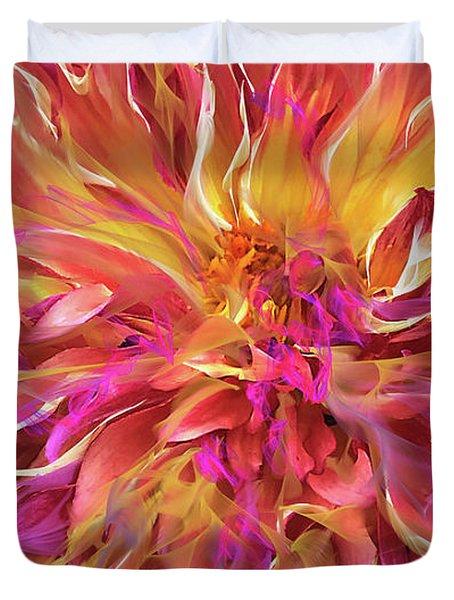 Magenta Sunshine Duvet Cover