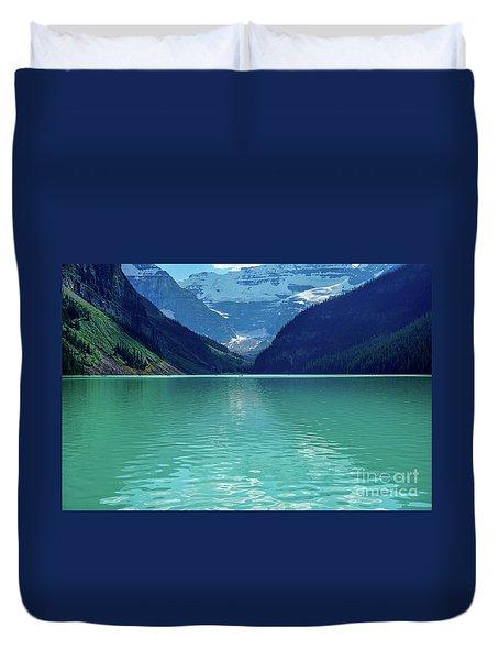 Magic At Lake Louise Duvet Cover