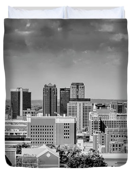 Magic City Skyline Duvet Cover