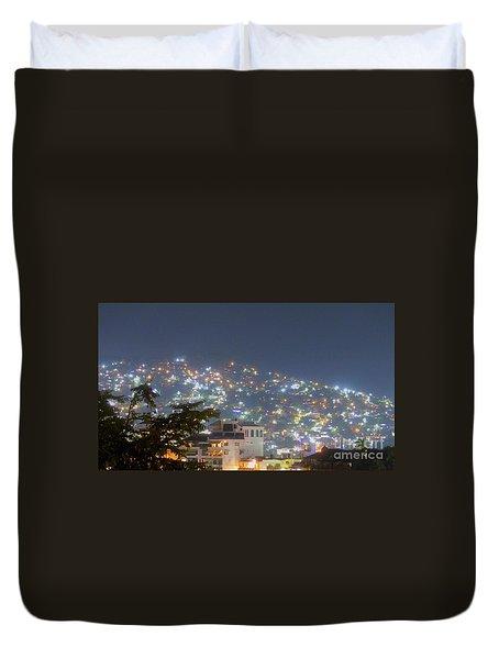 Magic Of Zihuatanejo Bay Duvet Cover