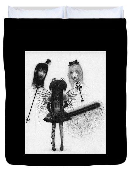 Magical Girl Bloody Nightmare - Artwork Duvet Cover