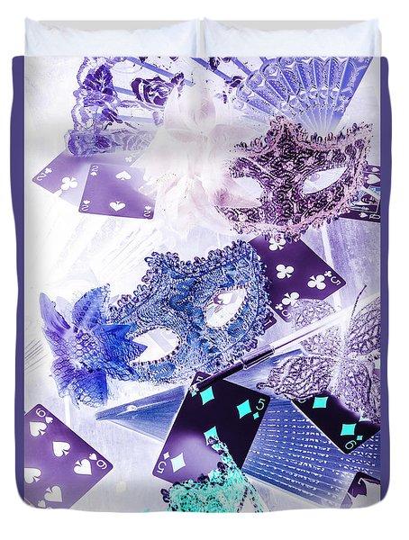 Magical Masquerade Duvet Cover