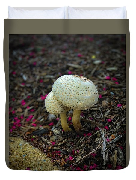 Magical Mushrooms Duvet Cover