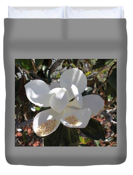 Magnificent Magnolia Duvet Cover
