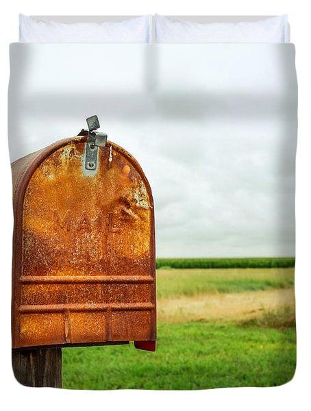 Mailbox  Duvet Cover