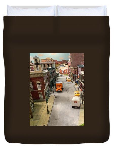 Main Street Duvet Cover