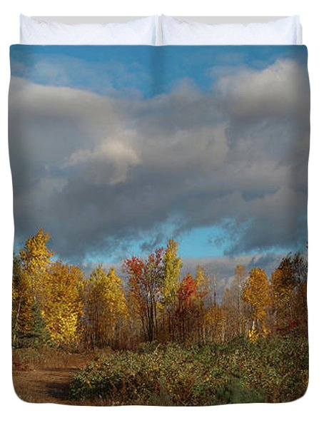 Maine Wilderness Color 2 Duvet Cover