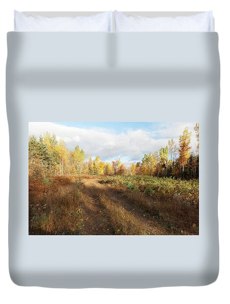 Maine Wilderness Color Duvet Cover