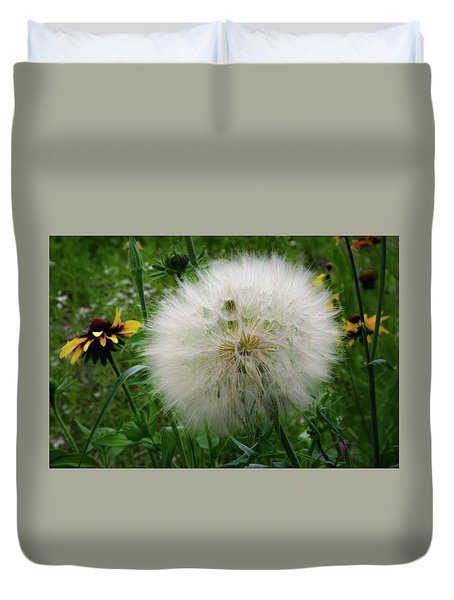 Duvet Cover featuring the photograph Make A Wish by Lora J Wilson