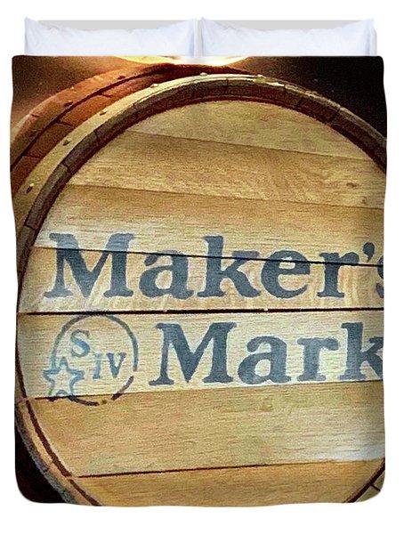 Makers Mark Barrel Duvet Cover