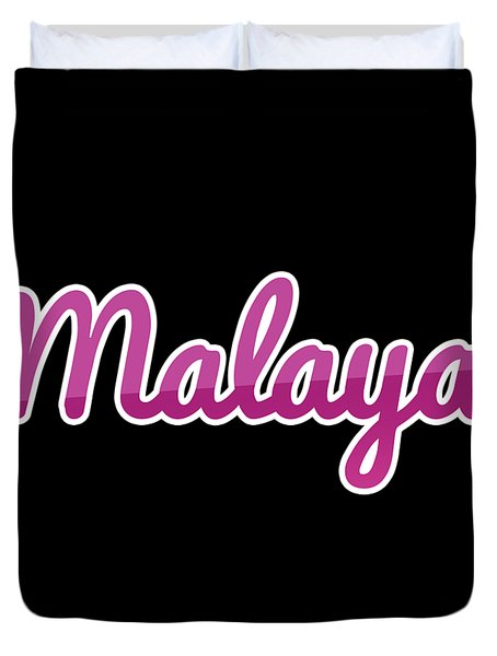 Malaya #malaya Duvet Cover