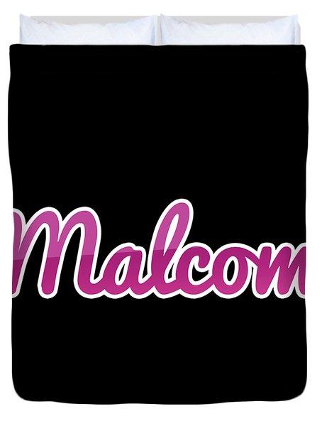 Malcom #malcom Duvet Cover