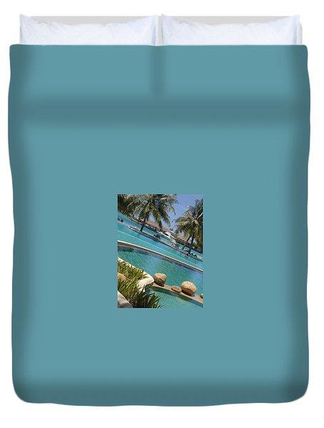 Maldivies Duvet Cover