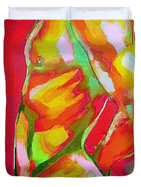 Male Glitter Duvet Cover