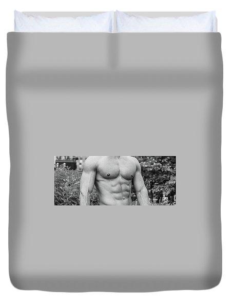 Male Torso 2 Duvet Cover