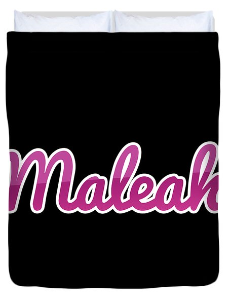 Maleah #maleah Duvet Cover