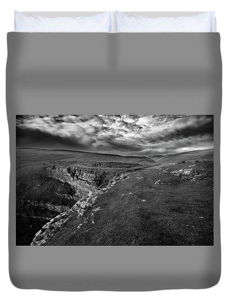 Malham Cove Duvet Cover