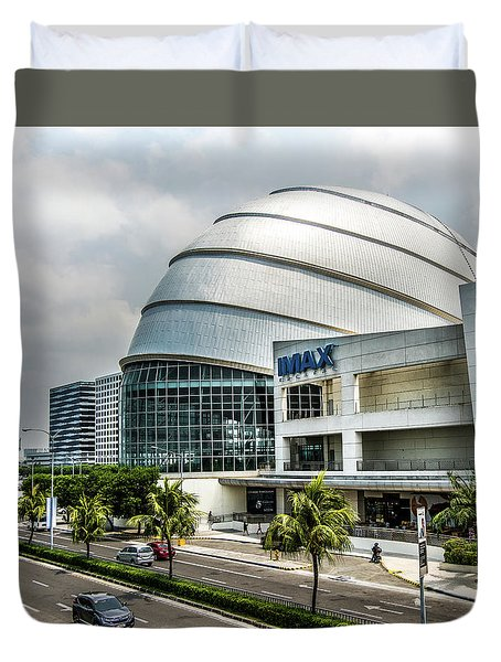 Mall Of Asia 4 Duvet Cover