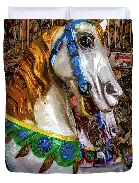 Mall Of Asia Carousel 1 Duvet Cover