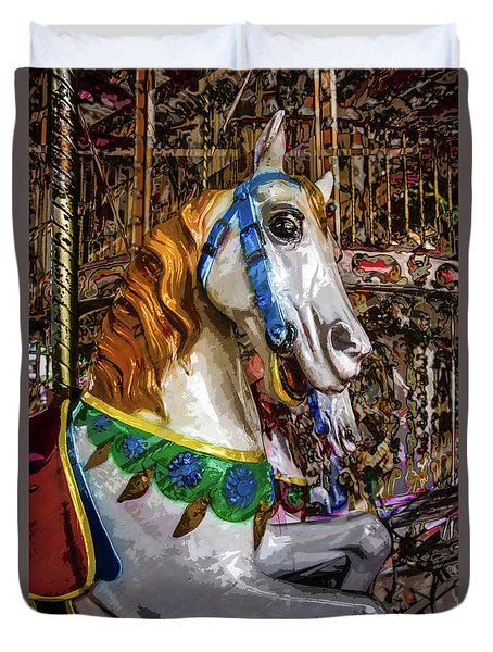 Mall Of Asia Carousel 1 Duvet Cover