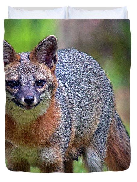 Mama Fox Duvet Cover