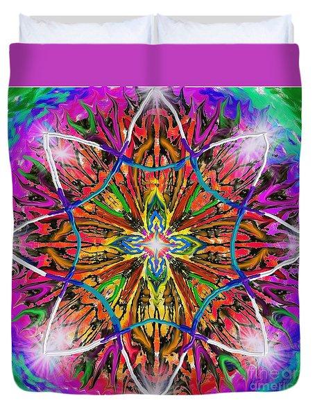 Mandala 12 11 2018 Duvet Cover