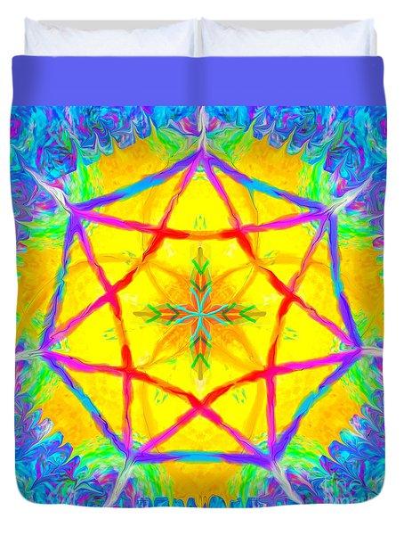 Mandala 12 9 2018 Duvet Cover