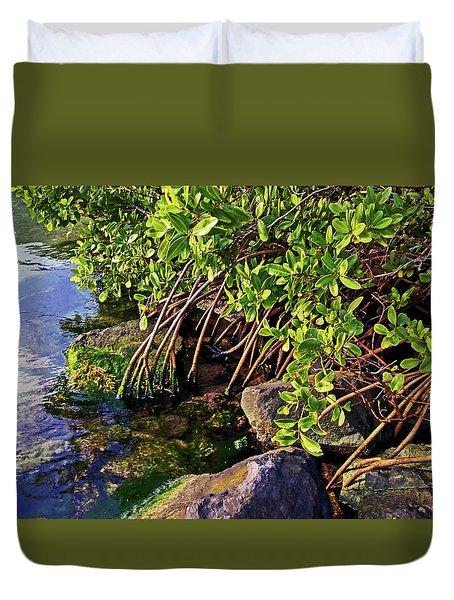 Mangrove Bath Duvet Cover