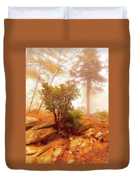 Manzanita In Light Duvet Cover