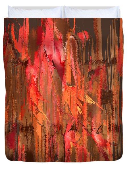 Maple Leaf Rag Duvet Cover
