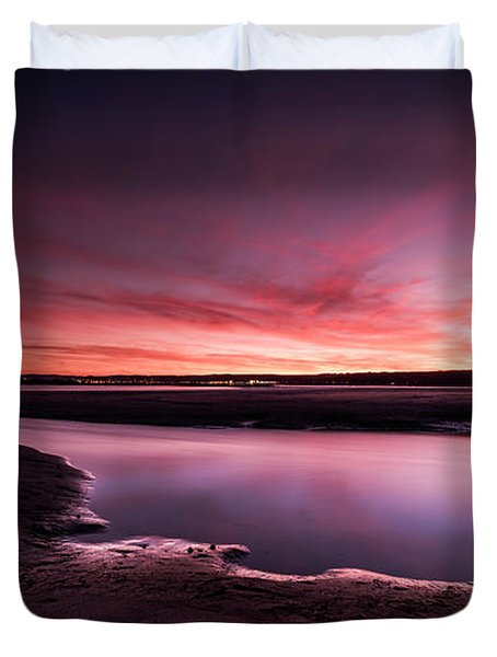 Marazion Sunset Duvet Cover