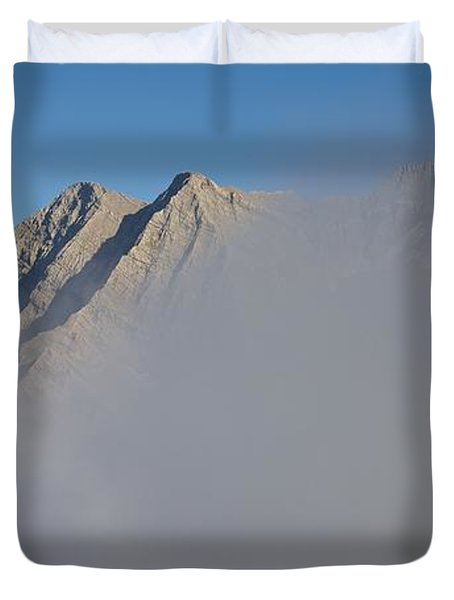 Marbore Behind The Clouds Duvet Cover