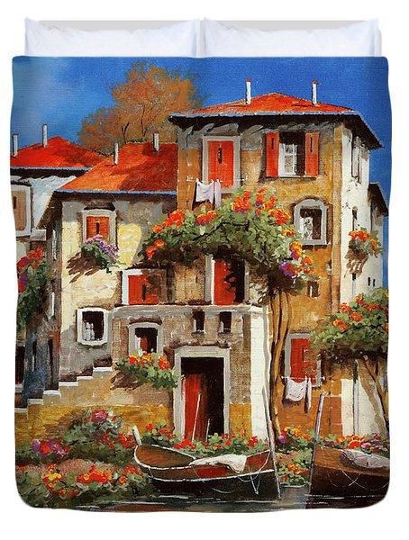 Mareblu-tetti Rossi Duvet Cover