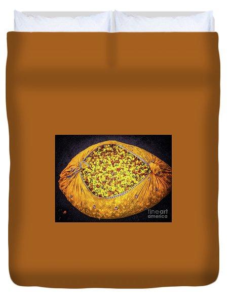 Marigolds Duvet Cover