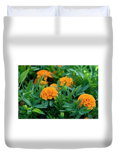 Marigolds Duvet Cover