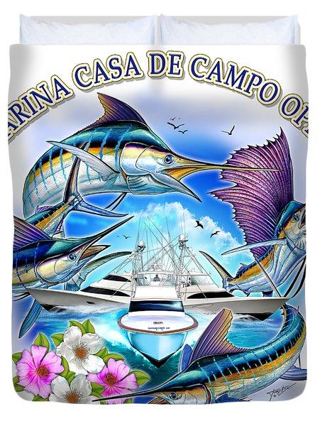 Marina Casa De Campo Open Art Duvet Cover