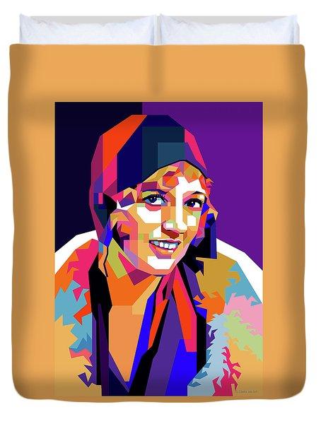 Marion Davies Duvet Cover