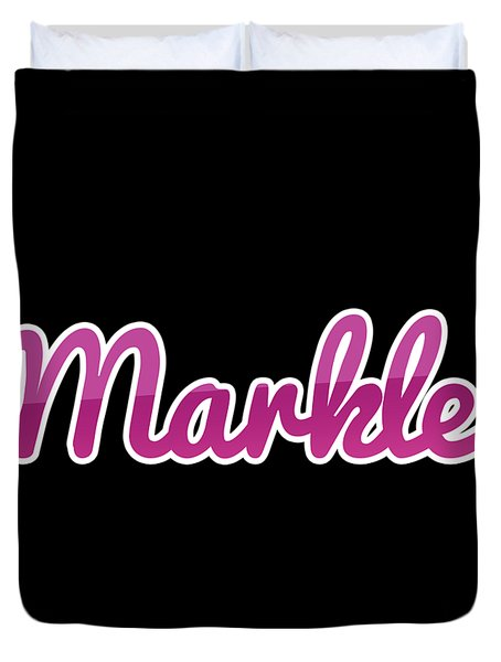 Markle #markle Duvet Cover