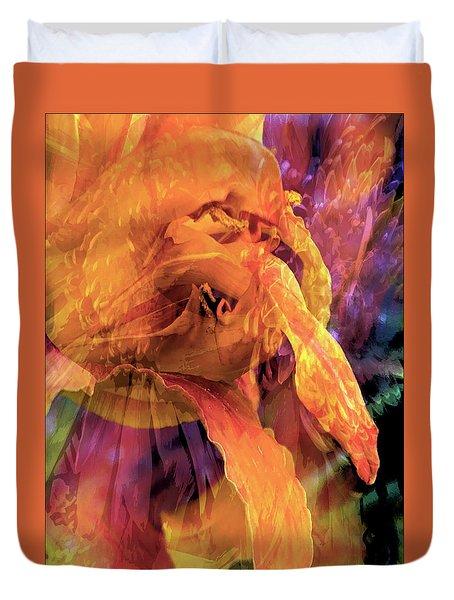 Marmalade Bloom Duvet Cover