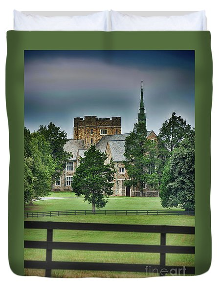 Mary Hall, Berry College Duvet Cover