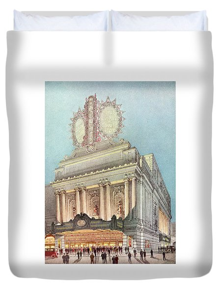 Mastbaum Theatre Duvet Cover