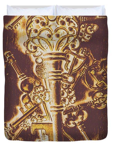 Master Key Duvet Cover