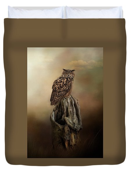 Master Of The Forest Duvet Cover