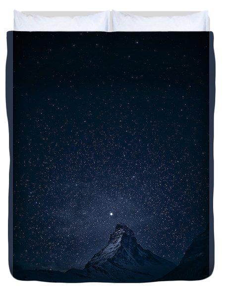 Matterhorn Sterne Duvet Cover