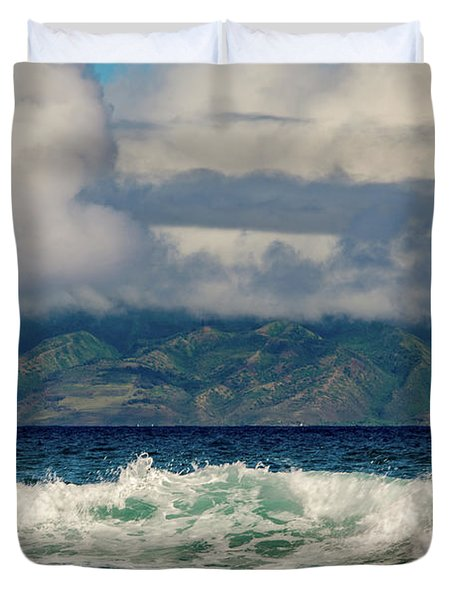 Maui Breakers II Duvet Cover