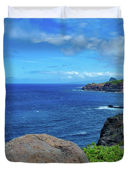 Maui Coast II Duvet Cover