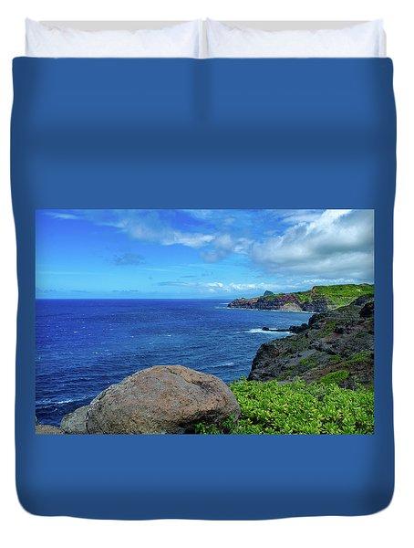 Maui Coast II Duvet Cover
