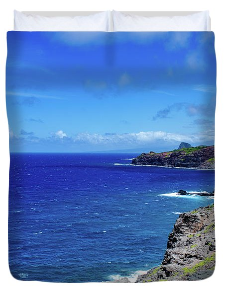 Maui Coast Duvet Cover