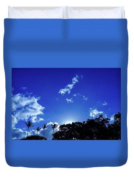 Maui Sky Duvet Cover