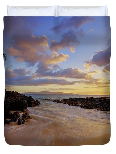 Maui's Way Duvet Cover